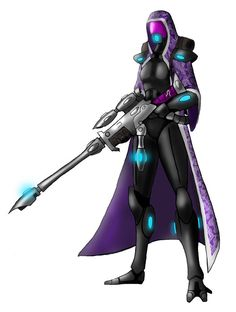 Tali-Eldar ranger by spaceMAXmarine