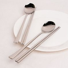 Kotobuki Japanese Stainless Steel Ramen and Noodle Fork Silver