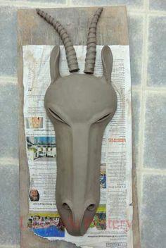 "Hump Soft Mold, ""Drop"" Method, Handbuilding Sculpting Project and Lesson"
