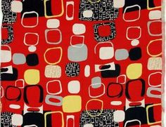 Lucienne Day was one of the most important textile designers in the 1950s