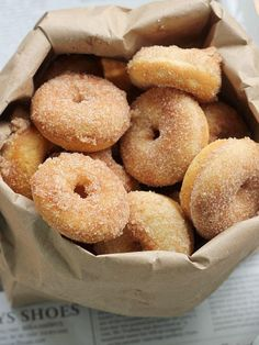 Baked Cinnamon Sugar Mini Donuts | Community Post: 19 Amazing Baked Donuts That Are Waaay Better Than Fried!