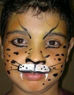 Face Painting Halloween Makeup, Halloween Crafts, Halloween Face, Face Painting Designs, Body Painting, Amazing Gardens, Beautiful Gardens, Cheetah Face Paint, Diy Costumes