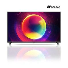 Sansui SLED6516 65 Inch 2160p 4K Ultra-HD (UHD) LED LCD HD Slim TVs 120Hz Flat Screen Monitor TV for Home Entertainment PS4 Xbox One Blu-ray PS3 Xbox 360 Slim PC Video Gaming DVD