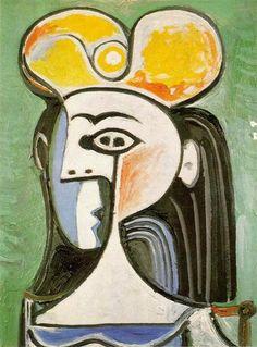 1962 Buste de femme Picasso, Pablo Ruiz