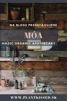 Britská prírodná značka čerpá inšpiráciu v starovekom bylinkárstve a ide jej to skvelo. Magická sila a kombinácia byliniek je potešením pre telo i ducha! Apothecary, Organic, Magic, Blog, Movie Posters, Film Poster, Pharmacy, Blogging, Billboard