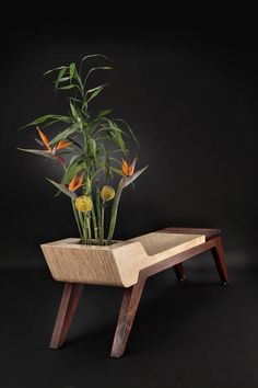 Comfortable Silence, Monroe, and Parker - Furniture by Jory Brigham Weird Furniture, Cute Furniture, Hardwood Furniture, Inexpensive Furniture, Cheap Furniture, Industrial Furniture, Wooden Furniture, Discount Furniture, Furniture Design