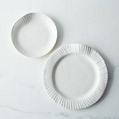 Virginia Sin / Porcelain Paper Plates