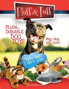 Fluff and Tuff Default Description Durable Dog Toys, Dog Games, Dog Love, Plush, Teddy Bear, Dogs, Animals, Art, Beauty