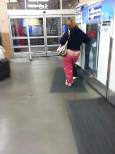 Your Pajamas are Falling Down - Funny Pictures at Walmart