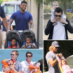 Usher, Orlando Bloom, Neil Patrick Harris, Gabriel Aubry