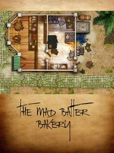 The Mad Batter Bakery by ladnamedfelix by ladnamedfelix