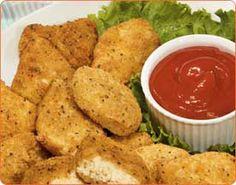 "The Okara Cookbook: Okara ""chicken"" nuggets (or strips)"