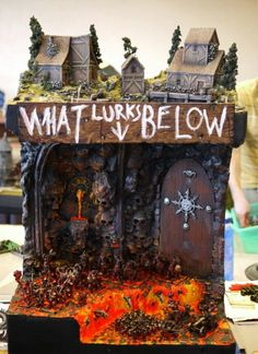 More Adepticon photos from someone I actually know, Craig... We're Facebook friends and everything, alas he doesn't explain who or what this is, but it was built for the Warhammer Fantasy tournament.