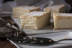 Vanilla slice seems to be one of those bakery goods that's always bought and never made. You'll be surprised how easy it is to make. Australian Flavours.
