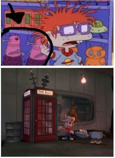 Doctor Who references everywhere