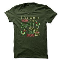 GARDENING AND BOOKS - #tshirt bemalen #sweatshirt men. LIMITED AVAILABILITY => https://www.sunfrog.com/Hobby/GARDENING-AND-BOOKS.html?68278