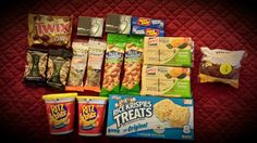 Snacks packed for Germany. Several long flights there and back.