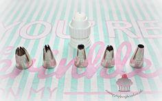 Cupcake Turtorial - Übersicht Wilton-Tüllen I www.sweetundstyle.blogspot.de