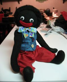 Gosh by Golly Golliwog CUSTOM ORDER by hayseedbears on Etsy