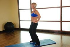 10 exercises to strengthen core and abs... for lower back pain. Standing Pelvic Tilt