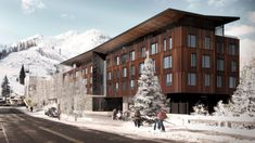 CCY Architects | PlumpJack Squaw Valley Inn - California