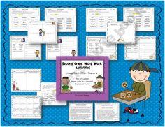 Houghton Mifflin Second Grade Word Work Theme 6