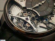 AHCI & Independent Haute Horlogerie - Rudis Sylva Oscillateur Harmonieux - the instantly compensating 'tourbillon'