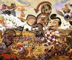 Into the Valley of Finks and Weirdos by Todd Schorr photo IntotheValleyofFinksandWeirdosbyTod.jpg