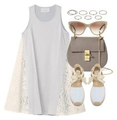 """""""Untitled #337"""" by foreverdreamt ❤ liked on Polyvore featuring moda, Akira, STELLA McCARTNEY, Chloé e Soludos"""