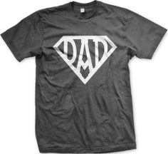 Amazon.com: Superdad Mens Tee Shirt, Father's Day Super Dad Design Men's T-shirt: Clothing (affiliate)
