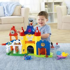 Toddler Toys: Disney Fisher-Price Mickey and Minnie Sets - for kids ages 1-1/2 to 5 years. Fun playsets with your favorite mouse friends plus rides and more