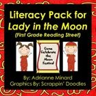 Literacy Pack for Lady in the Moon for First Grade Reading Street #EasyNip