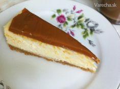 Karamelový cheesecake - recept | Varecha.sk