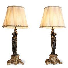 Lamps Objective Originale Antica Applique Bronzo Dorato Ferro Battuto 4 Luci Stile Liberty