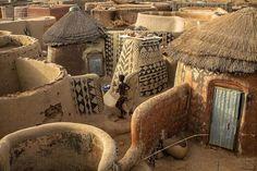 Gurunsi Architecture , Ghana & Burkina Faso