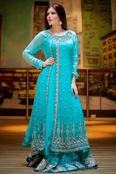 New Maxi Party Wear Collection For Ladies 2016