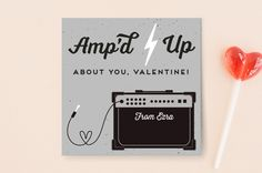 A classroom valentine for all the pint-size punk rockers in your life, now available only at Minted! . . . . #stationerylove #stationeryaddict #snailmail #valentines #valentinesday #classroomvalentine #thatsdarling #flashesofdelight #graphicdesign #makersgonnamake #mintedartist #guitar #minted