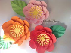 SECRET GARDEN paper flower wall /backdrop by SydneyPaperFlowers