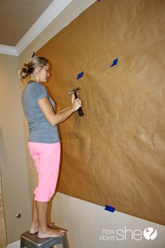 DIY Tutorial on how to hang a picture wall...great idea!