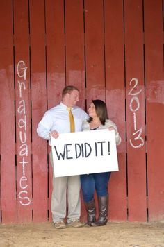 College grads.. Simon and I are def going to have to do this!! I can't wait :)