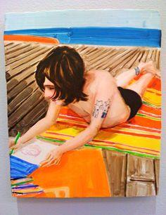 Elizabeth Peyton /// an all time favorite painting