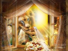 Holy Husband Digital Art by Dolores Develde