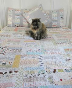 Low Volume fabric quilt