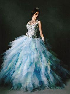 Cinderella princess wedding dress || 20 Breathtaking Wedding Dresses for Glamorous brides