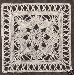 Ganchillo punto »Blog Archive patrón» Crochet: Cráneo Motif