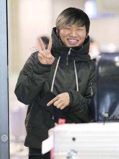 Daesung ♡ #BIGBANG // Incheon Airport (131216)