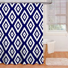 Accentuate Your Bathroom With The Halo Shower Curtain From Intelligent Design Featuring Teal And White Checkered Prints Horizontal