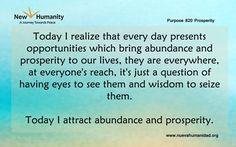 Purpose 820 Prosperity