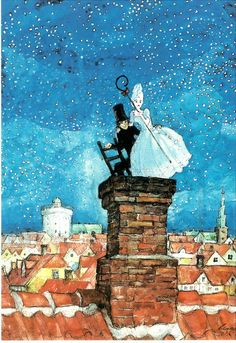 The Shepherdess and the Chimney Sweep -Hans Christian Andersen