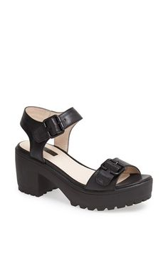 Topshop 'Nation Cleat' Sandal available at #Nordstrom